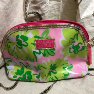 Lilly Pulitzer for Estee' Lauder makeup bag